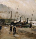 Gogh van Vincent The Ruyterkade Amsterdam Sun