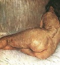 nudo di donna sdraiato