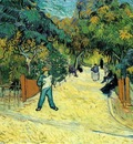 Van Gogh Entrance to the Public Garden in Arles
