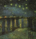 Van Gogh Starry Night Over the Rhone