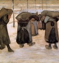 Van Gogh Vincent Woman Miners Carrying Coal