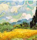 van Gogh Sadesfalt med cypresser, 1889, 73x93 5 cm, F 717, J