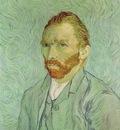 van Gogh Self portrait, 1889, 65x54 cm, Musee dOrsay, Paris