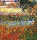 van gogh flowering garden