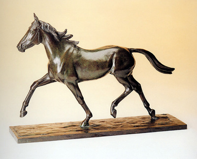 Golejevski de Nathalie Running horse Sun