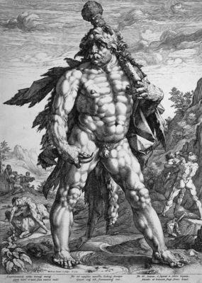 Goltzius Hendrick Hercules Sun