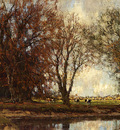 Gorter Arnold Marc A View Of The Vordense Beek