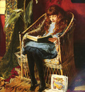 Gow, R I  Mary L  British 1851 to 1929 Fairy Tales SnD 1880 O C 45 7 by 35 6cm