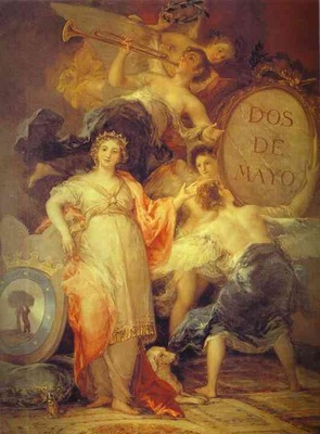 Francisco de Goya Allegory of the City of Madrid
