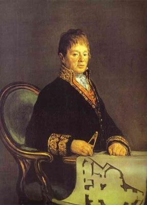 Francisco de Goya Portrait of Juan Antonio Cuervo