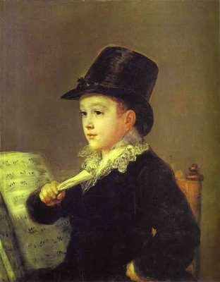 Francisco de Goya Portrait of Mariano Goya, the Artists Grandson