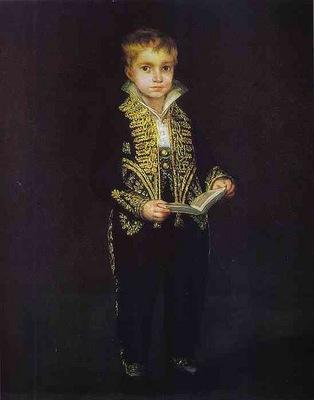 Francisco de Goya Portrait of Victor Guye