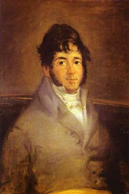 Francisco de Goya Portrait of the Actor Isidro Meiquez