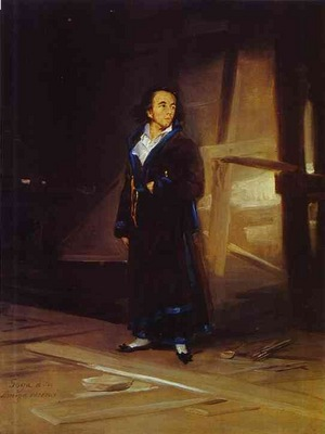Francisco de Goya Portrait of the Artist Julio Asensio