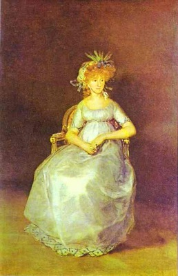 Francisco de Goya Portrait of the Countess of Chinch n