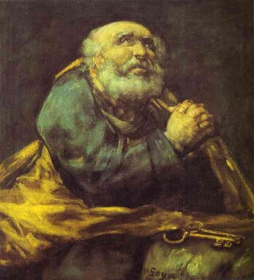 Francisco de Goya St  Peter Repentant