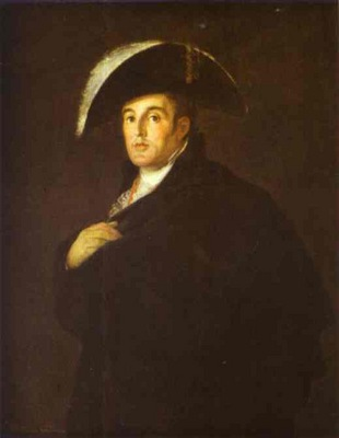 Francisco de Goya The Duke of Wellington