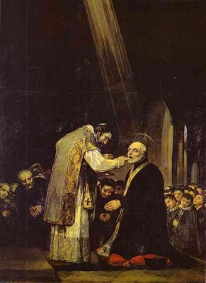 Francisco de Goya The Last Communion of Saint Jose de Calasanz
