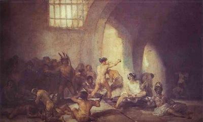Francisco de Goya The Madhouse