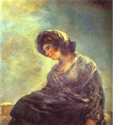 Francisco de Goya The Milkmaid of Bordeaux
