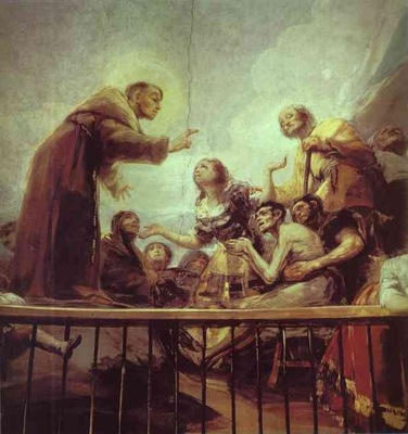 Francisco de Goya The Miracle of St  Anthony