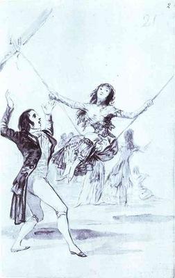 Francisco de Goya The Swing