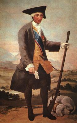Goya Charles III, 1786 88, oil on canvas, Museo del Prado, M