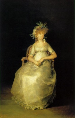 Goya Countess Of Chinchon