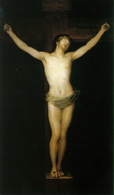 Goya Crucified Christ