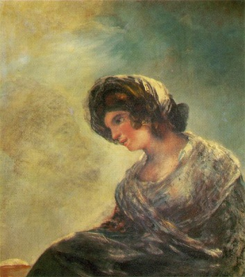 Goya The Milkmaid