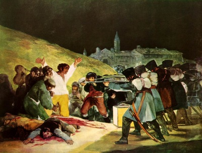Goya The Shootings of May Third 1808, 1814, Prado