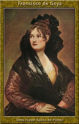 PO Vp S1 10 Francisco de Goya Dona Isabel Cobos de Porcel