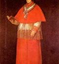 Francisco de Goya Cardinal Luis Maria de Borb n y Vallabriga