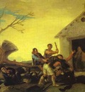 Francisco de Goya Fight at the Cock Inn