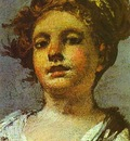 Francisco de Goya Girl with a Jug  Aguadora