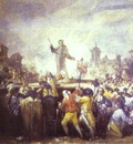 Francisco de Goya Le motin de Esquilache The Esquilache Riots