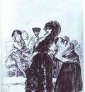 Francisco de Goya Old Beggar with a Maja