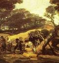 Francisco de Goya Powder Factory in the Sierra