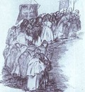 Francisco de Goya Procession of Monks