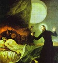 Francisco de Goya St  Francis Borgia Exorsizing