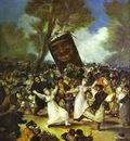 Francisco de Goya The Burial of the Sardine