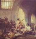 Francisco de Goya The Madhouse