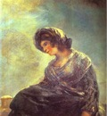 Francisco de Goya The Milkmaid of Bordeaux