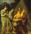 Francisco de Goya The Sacrifice to Vesta