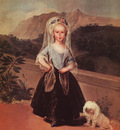 Goya Portait of Maria Teresa de Borbon y Vallabriga, 1783, o