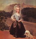 Goya Portait of Maria Teresa de Borbon y Vallabriga, 1783, o