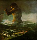 Goya The Colossus, 1808 12, Prado