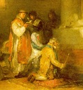 Goya The Ill Matched Couple, tin, Musee du Louvre, Paris