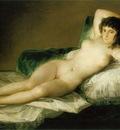 Goya The Nude Maja