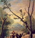 Goya The swing, 1787, 169x100 cm, Duke of Montellano Collect